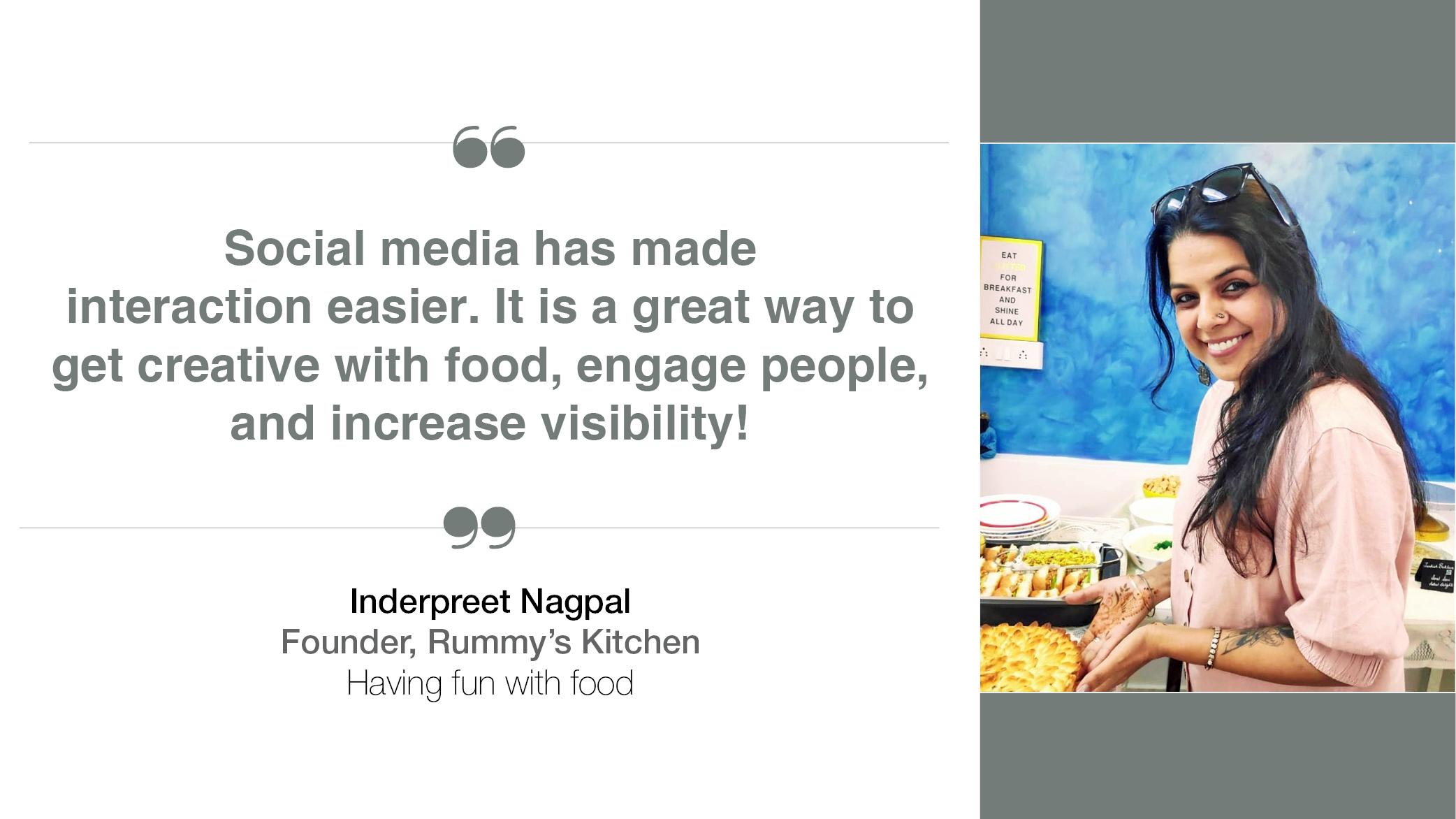 Inderpreet Nagpal Rummy's Kitchen