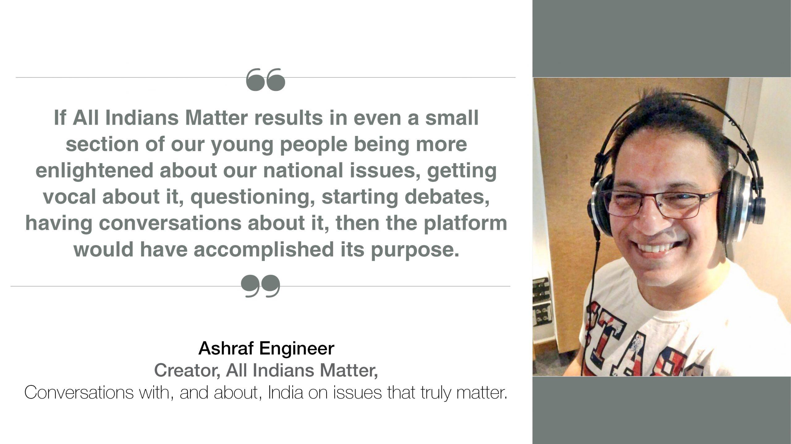 Ashraf Engineer Interview
